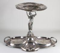 Plated Jugendstil table piece