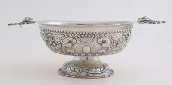 Silver brandy bowl