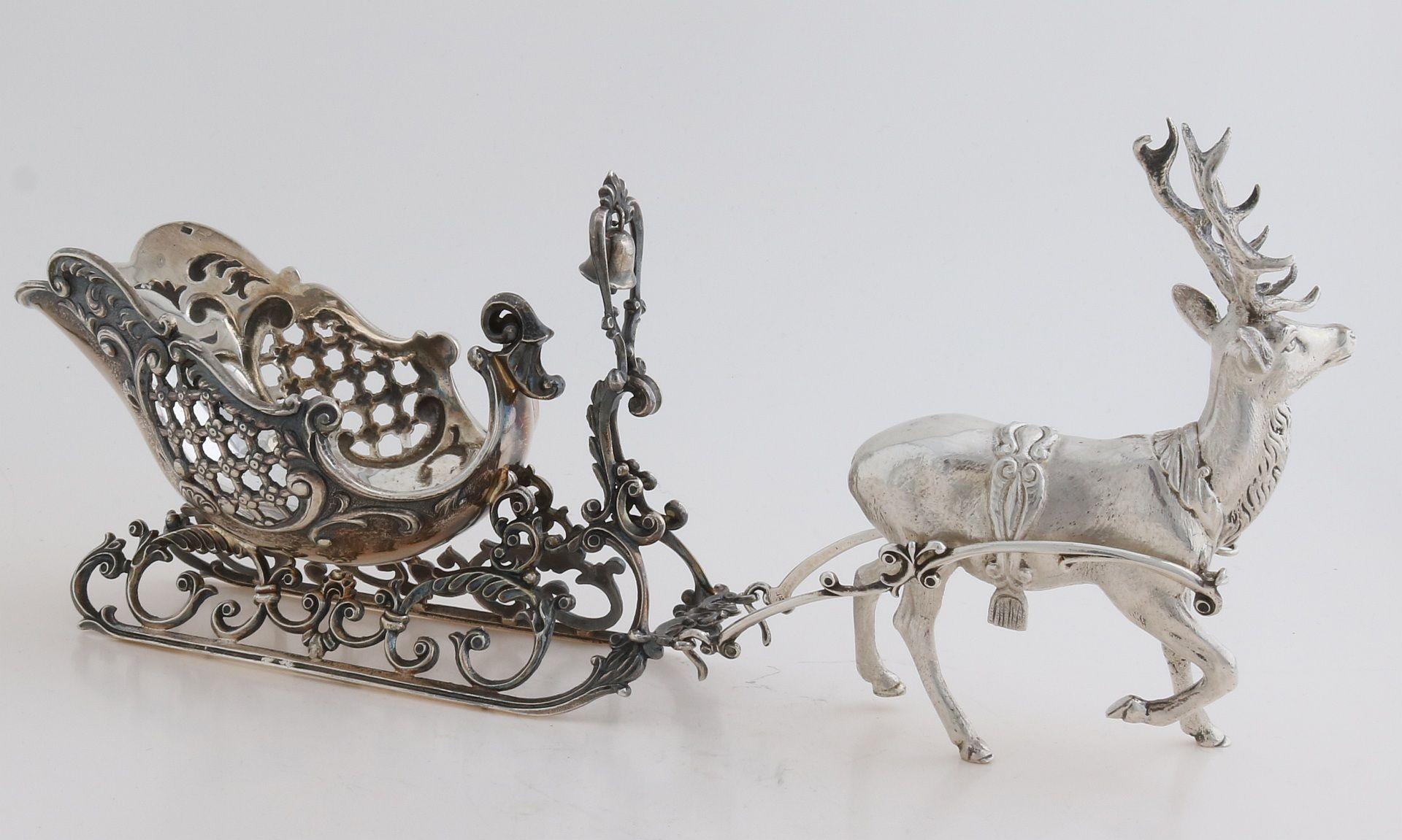 Silver sleigh