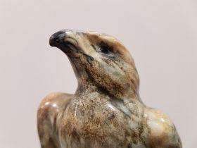1930 Shelley Eagle perched on Blue Rock. Shelley mark to base.