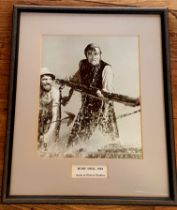 Photographic Print from the film set of Moby Dick at Elstree Studios