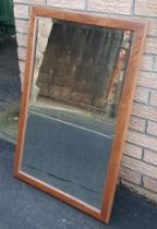 Large Ercol Mirror measuring 24 inches x 36 inches, with label to reverse