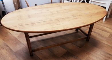 "N H Chapman & Co ""Siesta"" Drop Leaf Oval Table"
