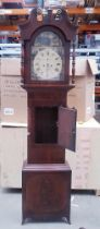 Large Victorian Longcase Grandfather Clock