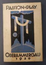 Art Deco 1930 Passions Play Handbook performed in Oberammergau
