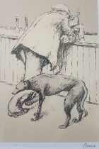 Norman Cornish framed, numbered and signed Limited Edition Lithograph 10/80