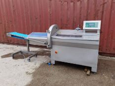 MHS SLICER WITH OUTFEED CONVEYOR
