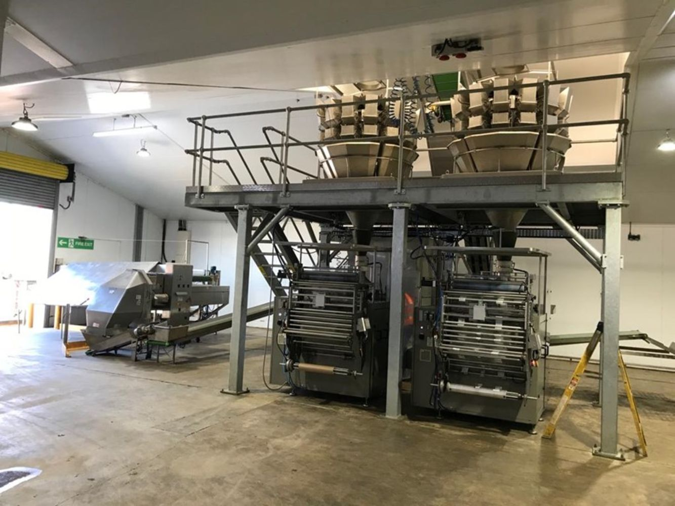 Complete Vegetable Processing & Packing Line