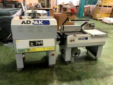 ADPAK SMIPACK L-SEALER AND SHRINK TUNNEL