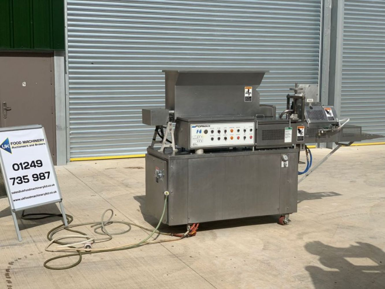 Monthly Food Machinery Auction Of High Quality Processing and Packaging Machinery