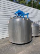 St. Regis 1500 Gallon Jacketed Processor Tank