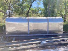 2000 Gallon Stainless Steel Oval Tank