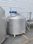 St. Regis 600 Gallon Jacketed Processor Tank