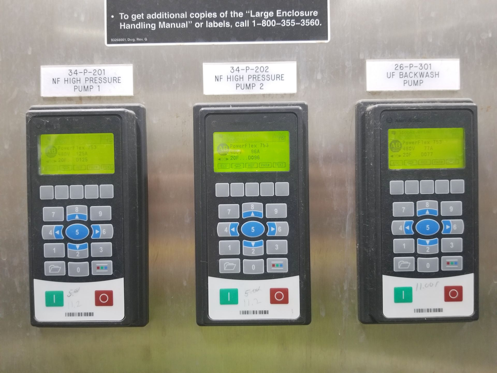 Rockwell Automation VFD Control Panel - Image 11 of 11