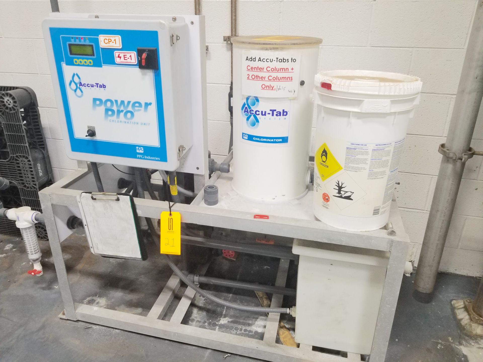 Accu-Tab System Chlorine Chem Feed