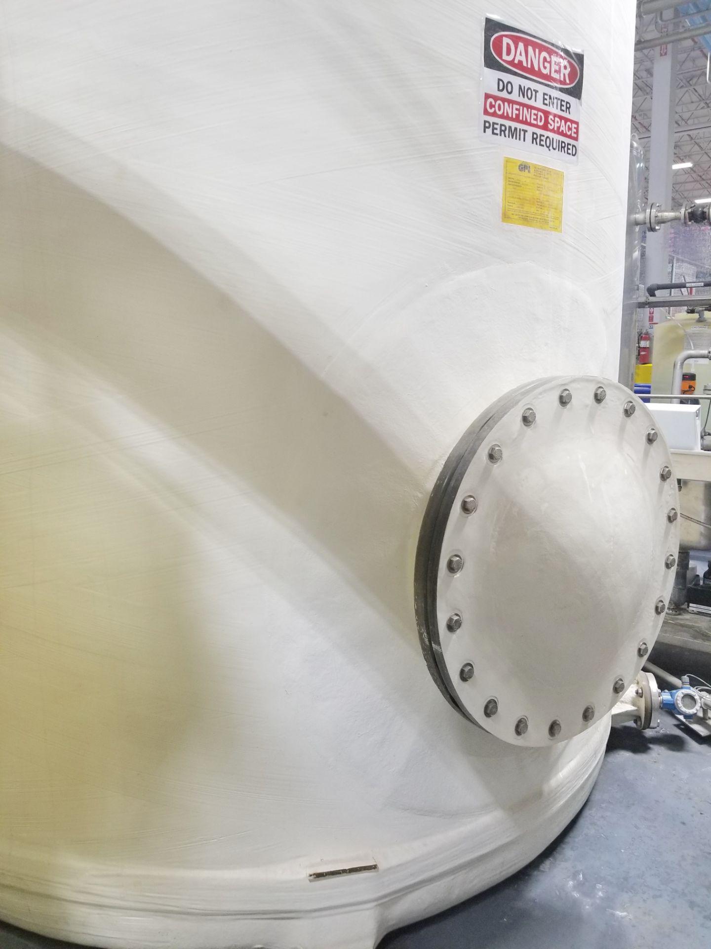 2010 GPI Corp 5000 Gallon Fiberglass Tank - Image 4 of 5