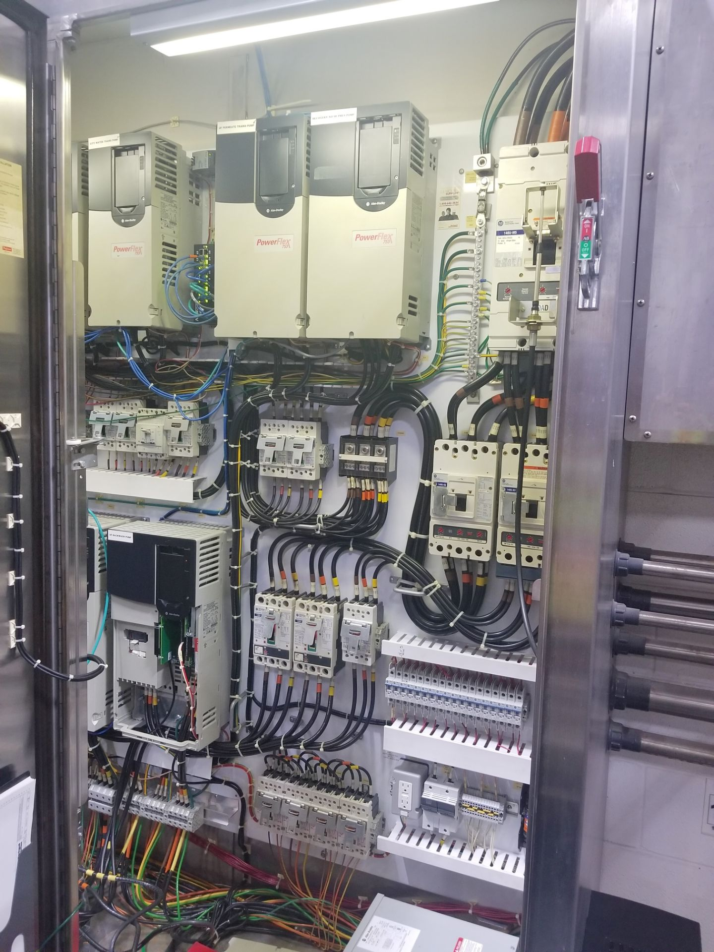 Rockwell Automation VFD Control Panel - Image 3 of 11