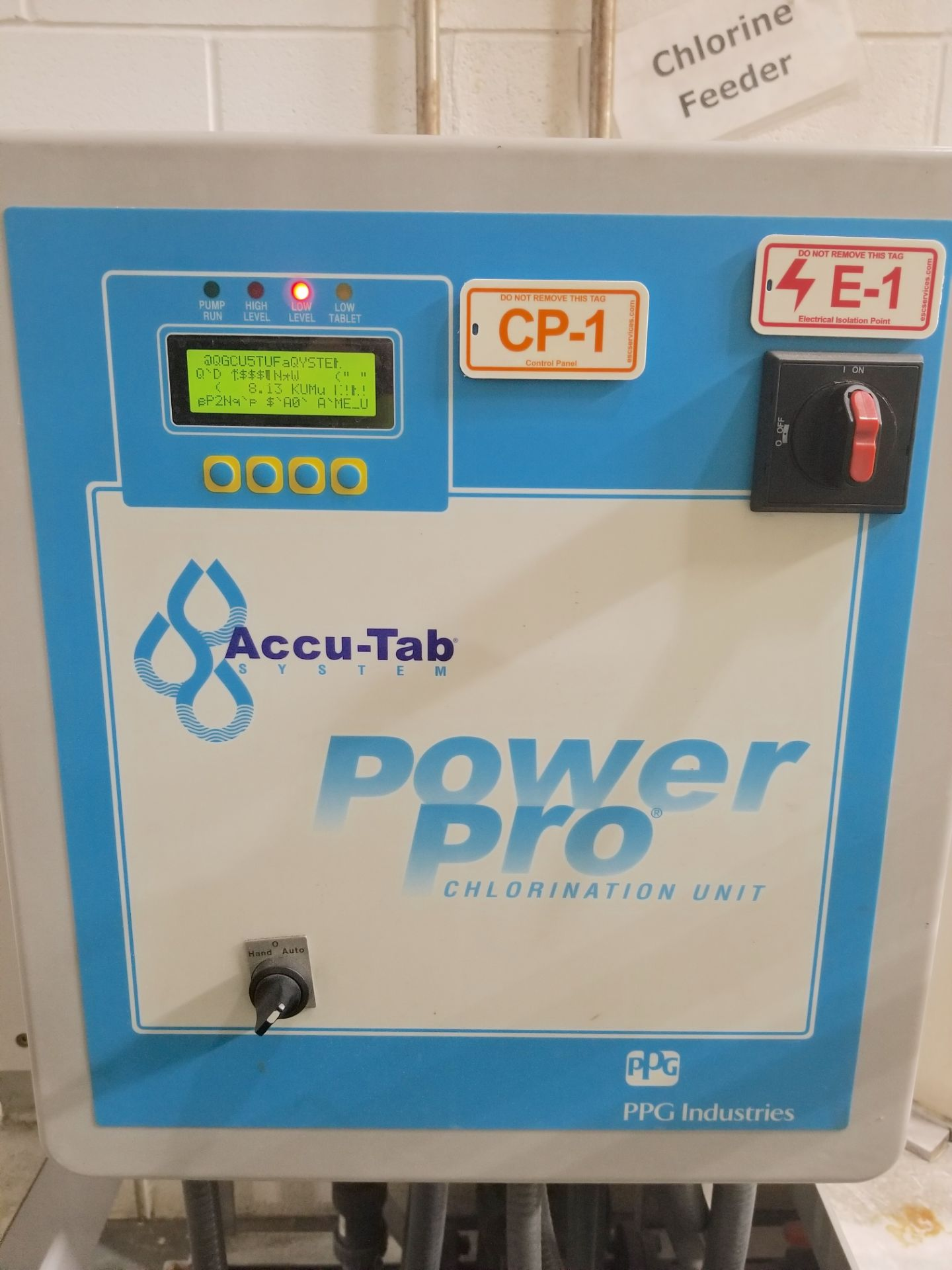 Accu-Tab System Chlorine Chem Feed - Image 2 of 4
