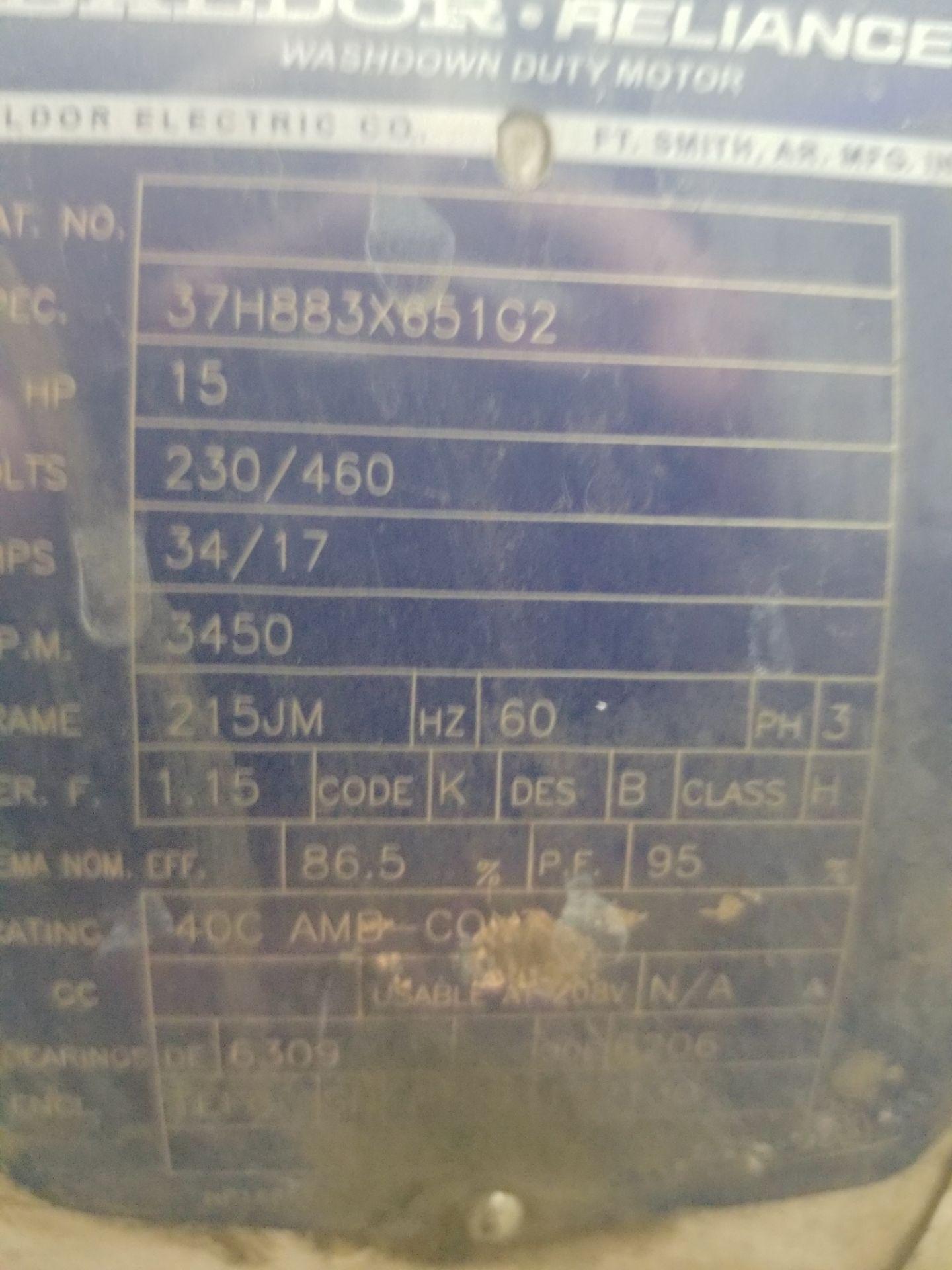 RO Feed Pump Skid - Image 3 of 5