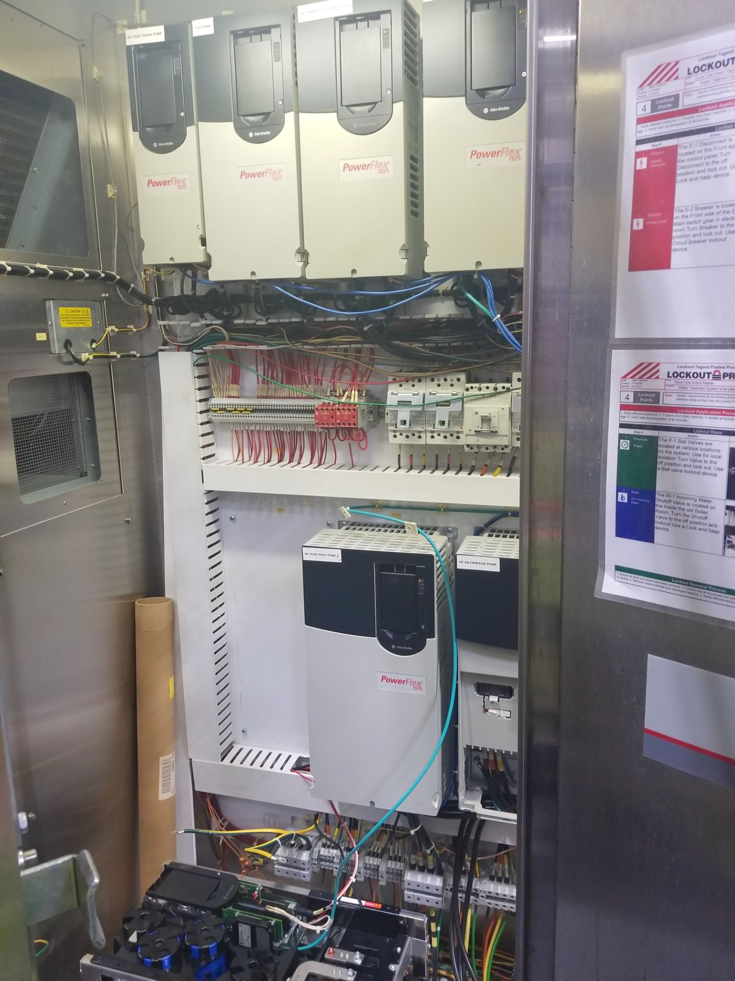 Rockwell Automation VFD Control Panel - Image 6 of 11