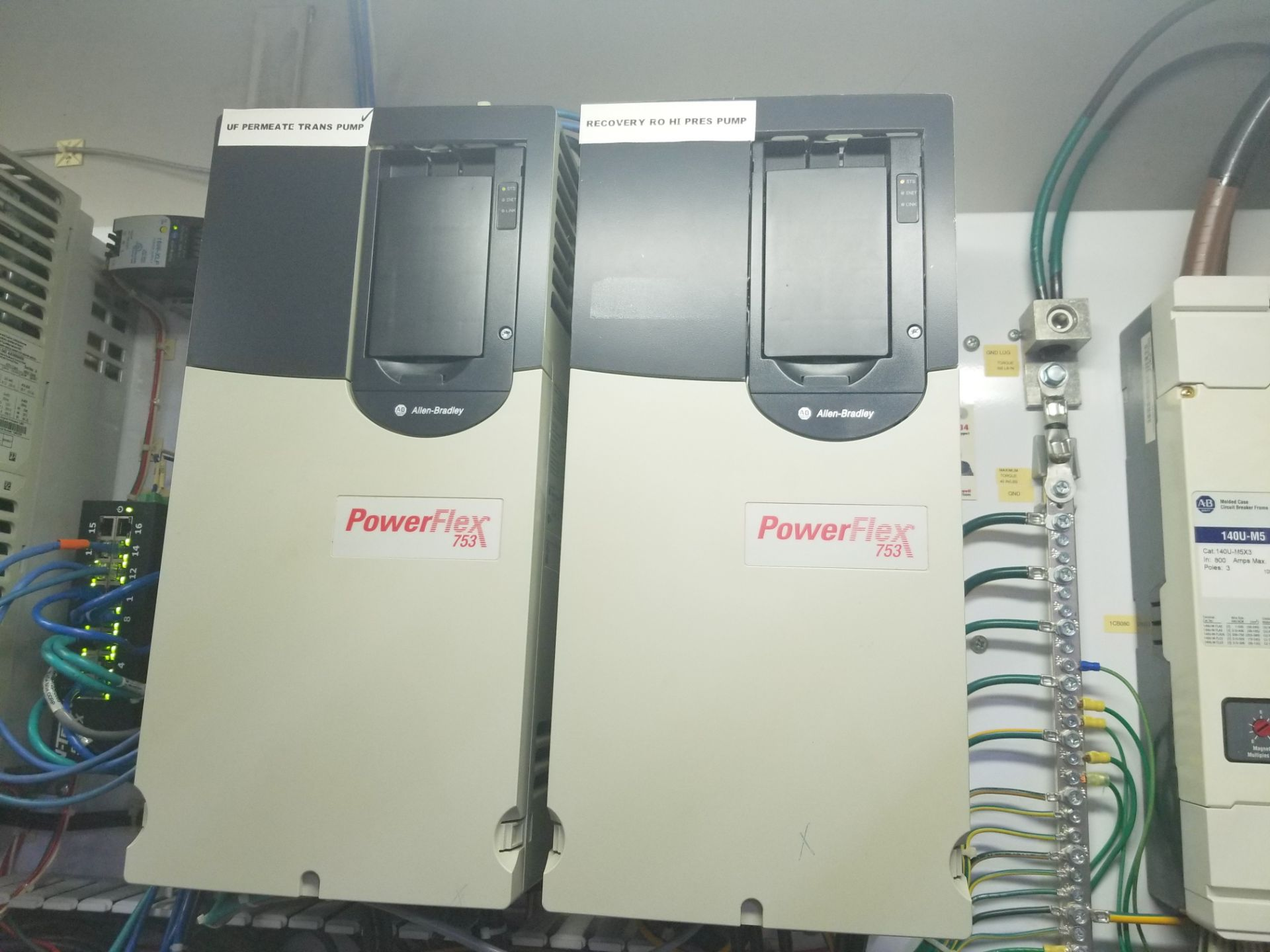Rockwell Automation VFD Control Panel - Image 2 of 11
