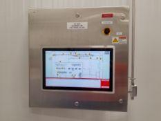 Blending HMI Touch Screen