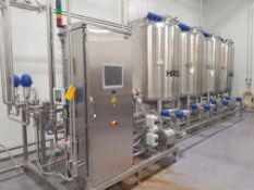 HRS 4 Tank Skid Mounted CIP System
