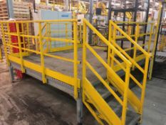 Operator Platform with 2 Stairs