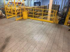 Lower Mezzanine for Case Conveyor near Mini-Load System