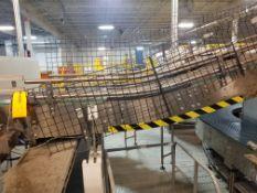 Europool Case Conveyor from Mini-Pool Overflow