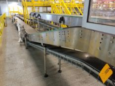 Approx. 50 feet of Europool Case Conveyor - Discharge of Case Switch
