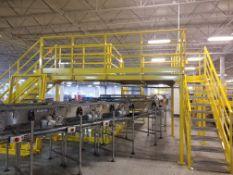 Crossover Platform for case conveyor