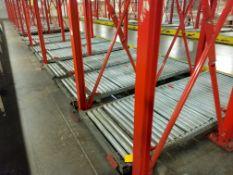 Gravity Pallet Conveyors (Manual Pick System B) Ground Level