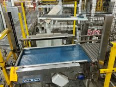 Europool Stainless Steel Case Conveyor (Discharge of Robot and Returns Section)