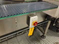 Approx. 40 feet of Europool Case Conveyor - Discharge of Case Switch