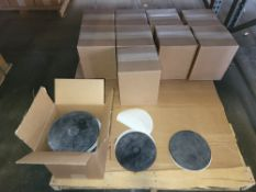 """LOT - (1) PALLET OF SILICONE MOLDS FOR SPIN CASTING: 9"""" DIA"""