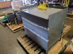 WORKSTATION CABINET, 3' X 2', W/ BUILT-IN AIR COMPRESSOR/HOLDING TANK, (WAS USED AT CONVENTIONS TO