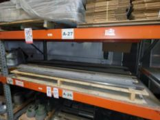 """LOT - MISC STEEL BAR: 75 TO 78"""" LENGTH"""