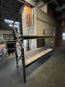 LOT - (7) SECTIONS OF PALLET RACKING