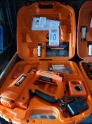 PASLODE CORDLESS 16 GAUGE ANGLED FINISH NAILER KIT, W/ CASE