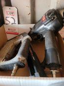 LOT - (1) SENCO JOIST PRO NAIL GUN, MODEL 150 AND (1) PORTER CABLE STAPLER, MODEL TS056