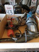 LOT - (2) POWER SHEARS: (1) KETT, MODEL KD-440 AND (1) MILWAUKEE, MODEL 6850