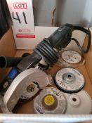 LOT - DREMEL ULTRA SAW, MODEL 605, W/ BLADES AND WHEELS