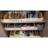 LOT - CONTENTS ONLY OF (3) SHELVES, TO INCLUDE: ENDMILLS AND OTHER CUTTERS