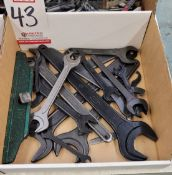LOT - MISC MACHINE WRENCHES