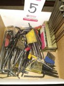 LOT - ASSORTED ALLEN WRENCHES