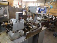 HARDINGE CNC SUPER PRECISION CHUCKER, MODEL HC, BANDIT CNC CONTROL