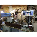 HARDINGE CNC SUPER PRECISION CHUCKER, MODEL HC, BANDIT CNC CONTROL, PROGRAMMABLE BARFEED