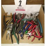 LOT - ASSORTED PLIERS