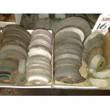 LOT - ASSORTED BUFFING/SAW/GRINDER WHEELS